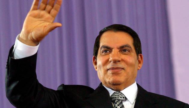 El expresidente tunecino Ben Alí.