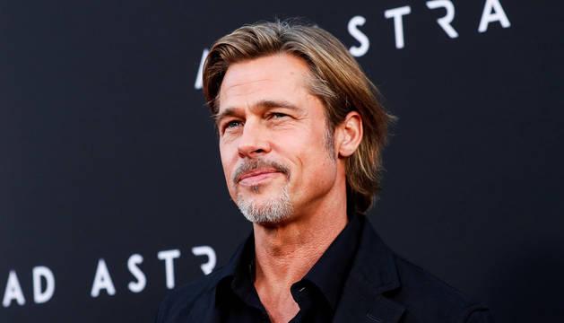 Foto de Brad Pitt, en el estreno de 'Ad Astra', en Los Ángeles.