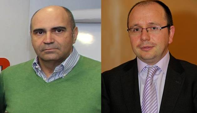 Manuel Carpintero y Alberto Lafuente.