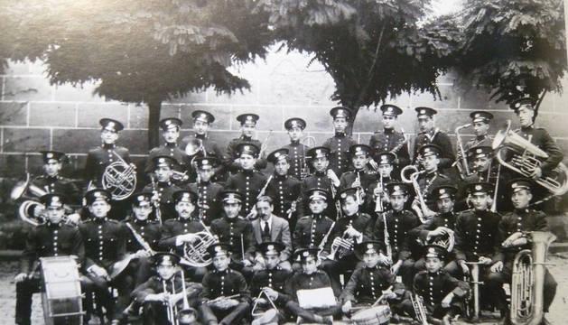 1920. La primera fotografía de La Pamplonesa.