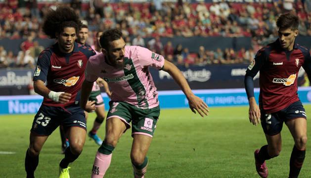 Foto de Aridane, durante el partido de este viernes contra el Betis.