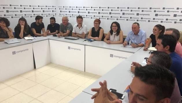 foto de Reunión de la Ejecutiva de Compromís