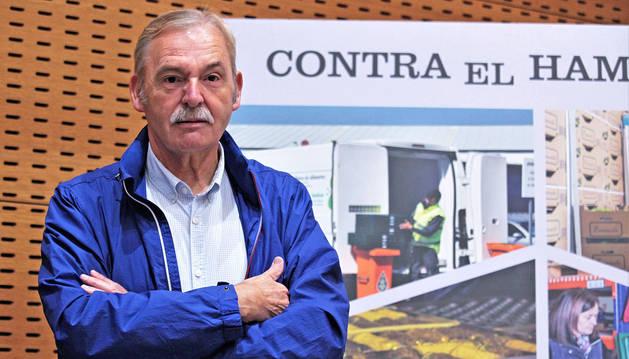 foto de Joaquín Fernández Eraso, presidente del Banco de Alimentos de Navarra.