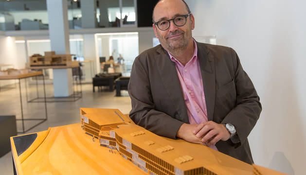 El arquitecto navarro Patxi Mangado.