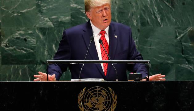 foto de Discurso de Trump ante la asamblea de la ONU