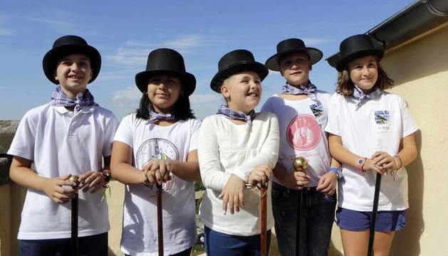 Fotos del inicio de las fiestas de San Fermín Txikito este viernes en Pamplona