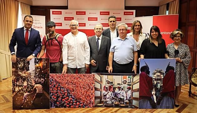 '¡Chupinazo en diagonal!' gana el VI Concurso de Fotografía San Fermín 2019