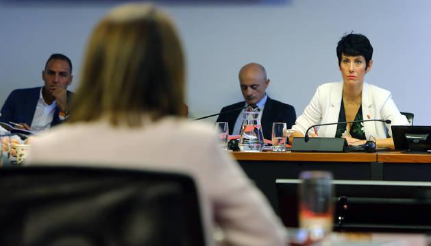 foto de La consejera de Economía y Hacienda del Gobierno de Navarra, Elma Saiz