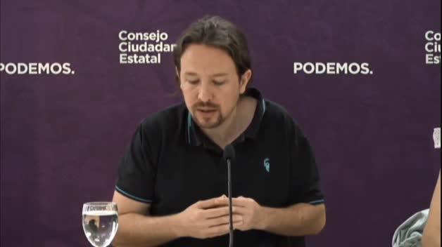 Pablo Iglesias carga contra Sánchez