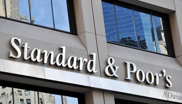 Foto de la sede de Standard & Poor's en Manhattan.