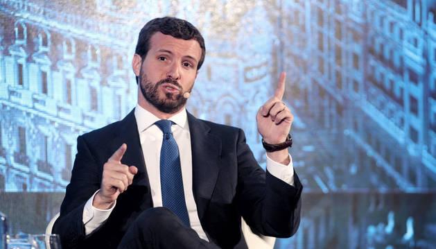 foto de El líder del PP, Pablo Casado