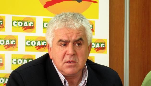 El secretario general de COAG Andalucía, Miguel López.