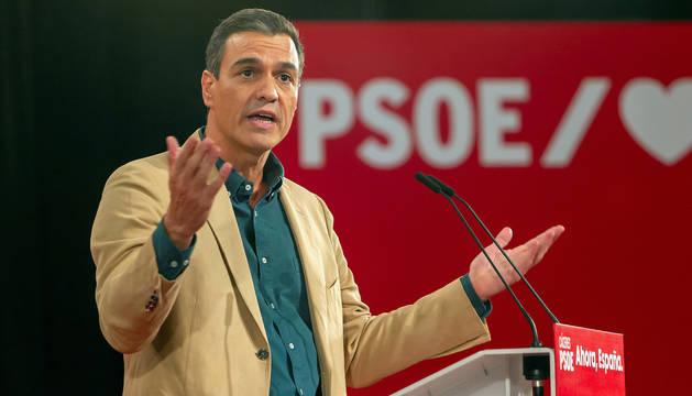 foto de Pedro Sánchez ha respondido a las palabras de Ayuso en un mitin en Cáceres