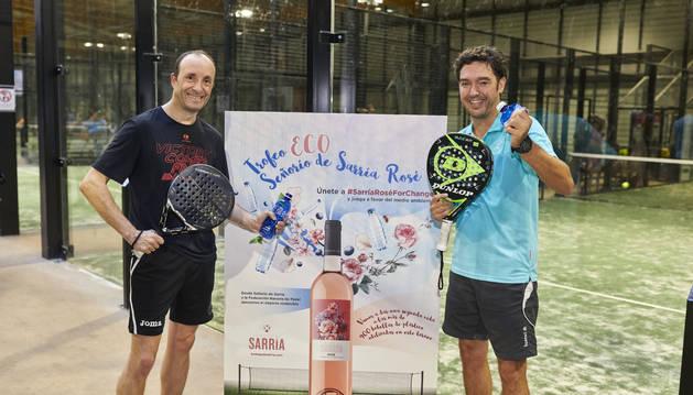 Foto del campeonato de pádel se prolongará durante 17 días en las instalaciones de Navarra Pádel Máster Club de Mutilva.