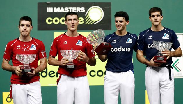foto de Jokin Altuna y José Javier Zabaleta se han proclamado campeones del III Masters Codere contra Irribarria y Rezusta