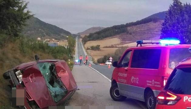 Un joven fallece atropellado en Berrioplano por un conductor que ha dado positivo en alcochol