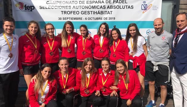 Selección navarra femenina.