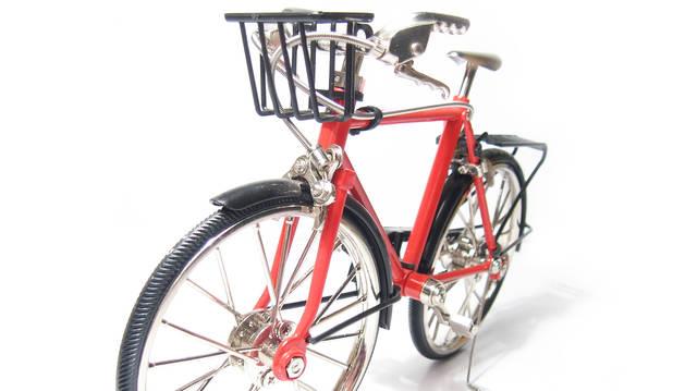 Una bicicleta de paseo.