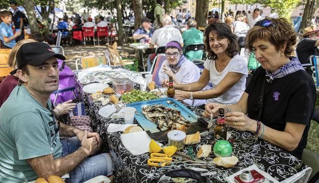 Costillada popular de fiestas de Villava 2019