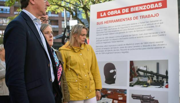 La Audiencia Nacional permite la muestra del etarra Bienzobas y Covite recurre