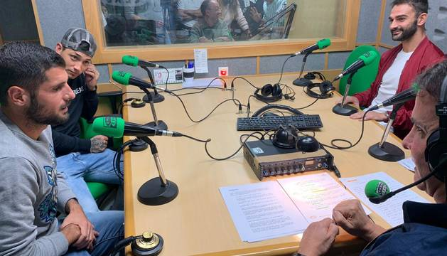 Fran Mérida, Adrián López y Chimy Ávila, en El Transistor.