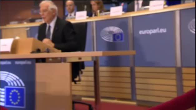 Borrell recibe el visto bueno de los eurodiputados para ser jefe de diplomacia