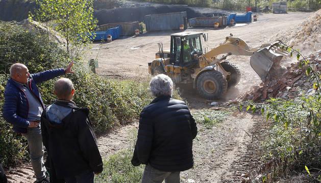 La instalación, en la foto, ha permitido clausurar la  antigua escombrera.