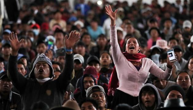 Cinco muertos en las protestas en Ecuador