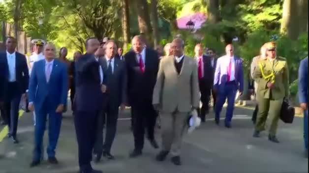 El primer ministro de Etiopía, Abiy Ahmed, premio Nobel de la Paz
