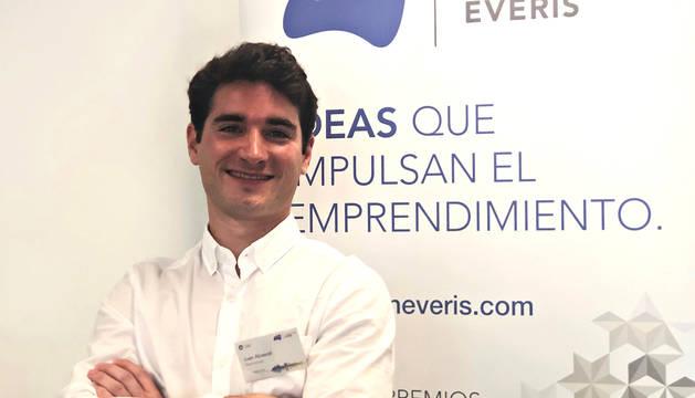 Juan Abascal, CEO y cofundador de la compañía navarra Abanza Tecnomed.