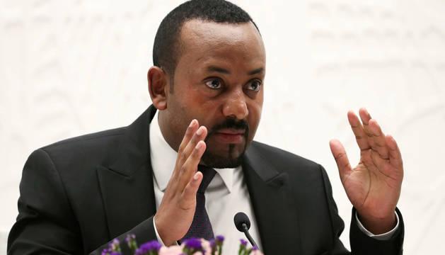 Foto del primer ministro de Etiopía, Abiy Ahmed.