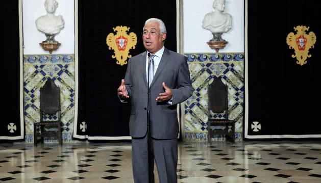 foto de  El primer ministro de Portugal, António Costa.