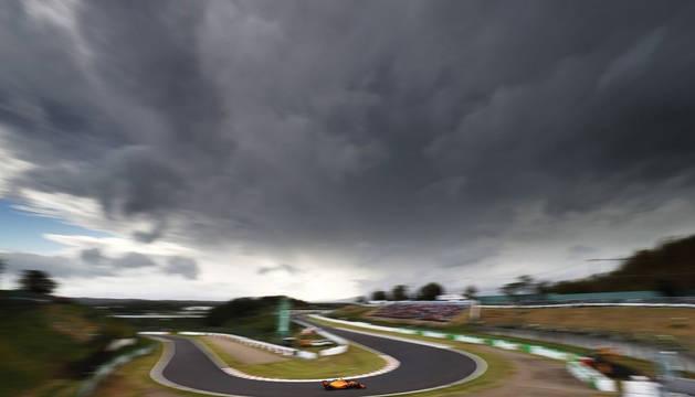Foto de la pista del Gran Premio de Japón de Fórmula Uno.