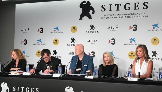 foto de El jurado del Festival de Cine Fantástico de Sitges lee el palmarés de esta edición
