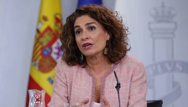 María Jesús Montero, ministra de Hacienda