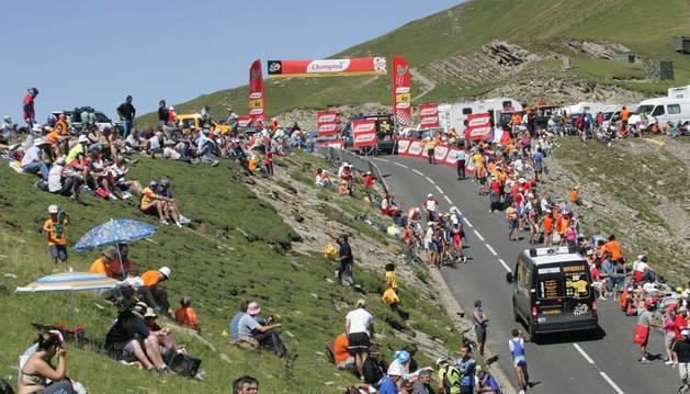 La cima de Larrau, en 2007.