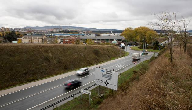 La pasarela conectará Pamplona y Orkoien sobre la PA-30.