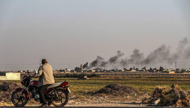 La UE discute este lunes sanciones a Turquía por su ofensiva en Siria