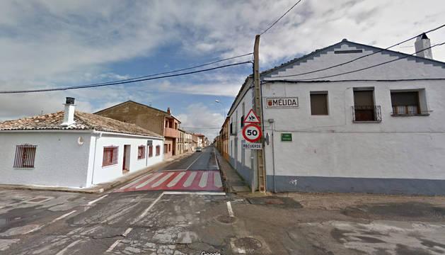 Vista de la localidad de Mélida.
