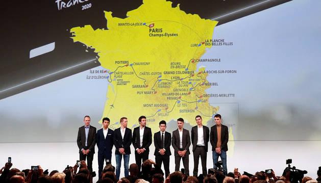 Presentación del Tour de Francia 2020.