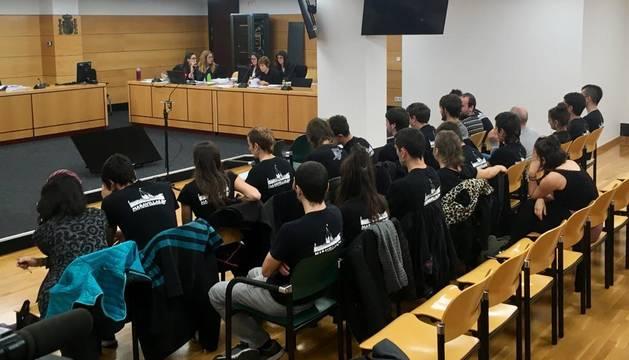 Primera jornada del juicio contra los 22 investigados por la ocupación de Rozalejo.