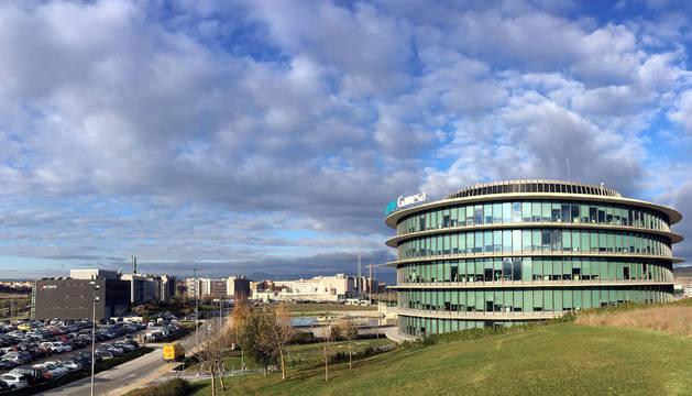 Foto de las oficinas de Siemens Gamesa en la Ciudad de la Innovación de Sarriguren.