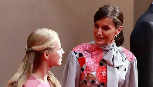 Audiencias previas a la entrega de los premios Princesa de Asturias