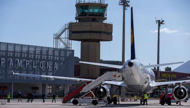 Imagen del aeropuerto de Pamplona