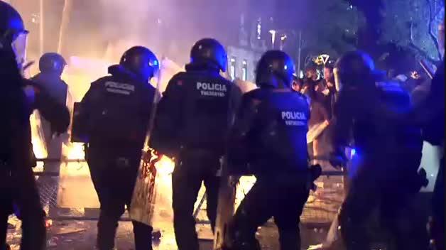 Cataluña inicia su cuarta huelga general en menos de dos años