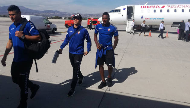 Osasuna llega a Granada a solo cinco horas del partido