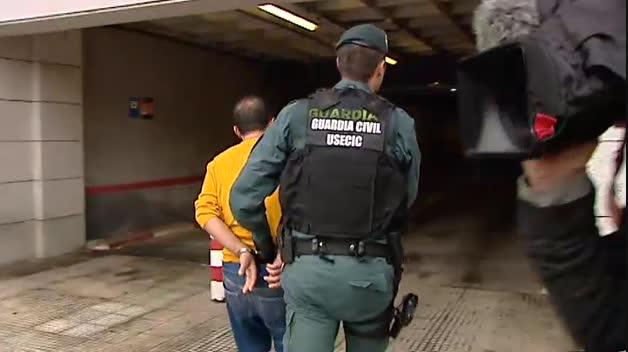 Pasan a disposición judicial los 4 detenidos por asaltar casas de futbolistas