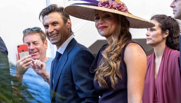 La pareja se ha rodeado de invitados de lujo para celebrar este día tan especial