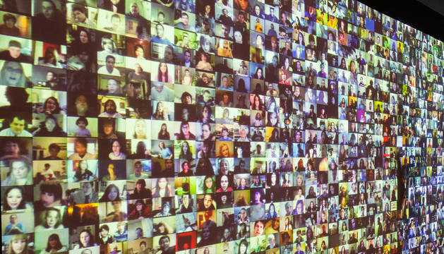 Exposición sobre Big Data en el CCCB de Barcelona en 2015.