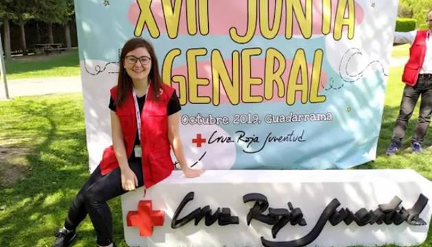 Jone Sola Oiza, nueva directora de Cruz Roja Juventud en Navarra.